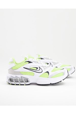 Nike Zoom Air Fire trainers in white grey and yellow