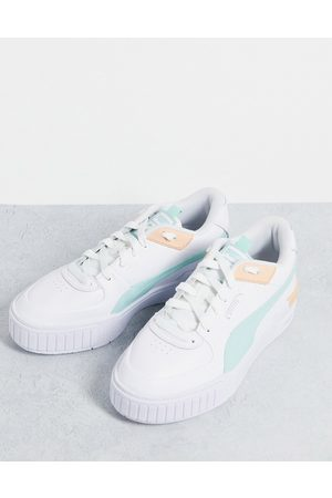 PUMA Mujer Tenis - Cali Sport trainers in white and mint