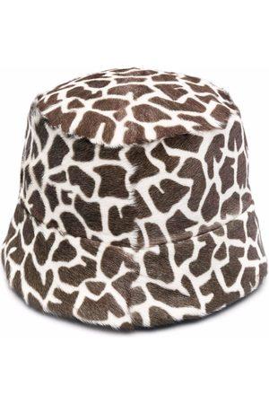 Simonetta Mujer Bolsas - Bolsa bucket con animal print