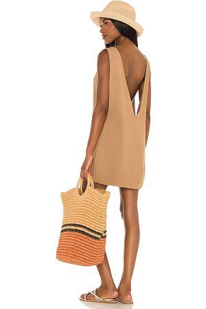 Indah Minivestido pella en color marrón talla L en - Brown. Talla L (también en S, XS, M).