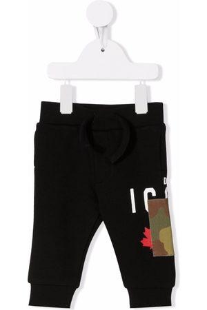 Dsquared2 Pantalones - Pants deportivos con parche militar
