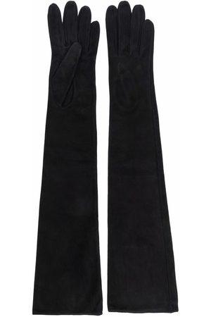 Manokhi Long-length suede gloves