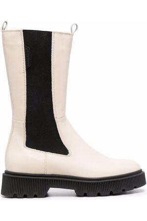 Kurt Geiger London Rib-panelled boots