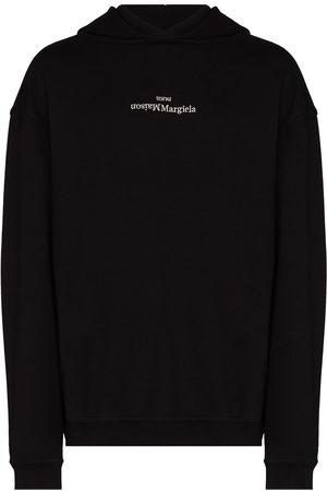 Maison Margiela Hombre Con capucha - Upside Down logo-print hoodie