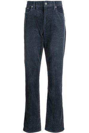 Polo Ralph Lauren High-waisted dark-wash corduroys