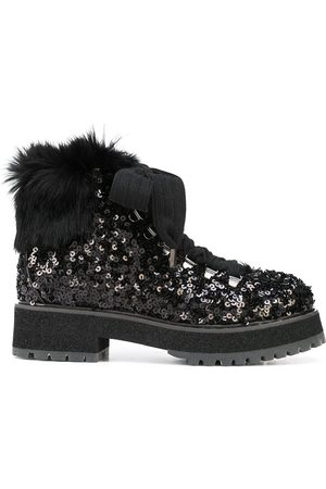 AGL Sequinned ankle boots
