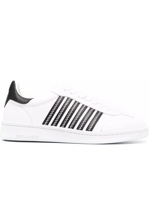 Dsquared2 Mujer Tenis - Stripe pattern lace-up sneakers