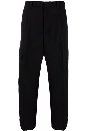 OAMC Cropped pleated trousers