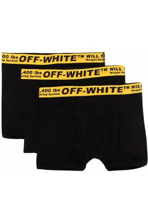 Off-White TRIPACK CLASSIC INDUSTRIAL BOXER BLACK Y
