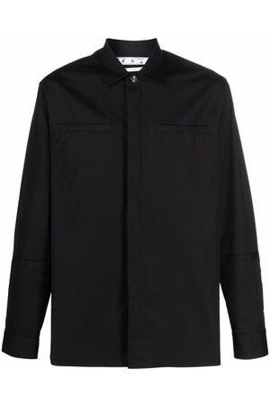 Off-White Hombre Camisas - OW LOGO WORKWEAR SHIRT BLACK BLACK