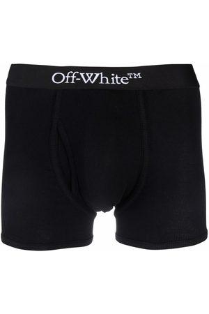 Off-White Hombre Boxers y trusas - SINGLEPACK OW BOXER BLACK WHITE