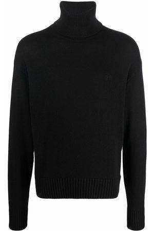 Off-White Hombre Suéteres - OFF BASIC KNIT TURTLENECK BLACK BLACK
