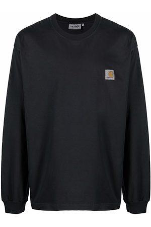 Carhartt Hombre Playeras - Logo-patch long-sleeved T-shirt