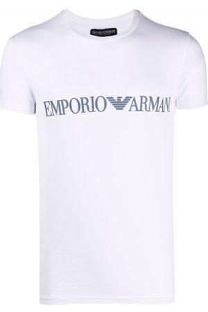 Emporio Armani Hombre Playeras - Logo-print T-shirt