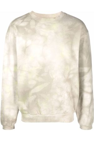 KAPITAL Hombre Sudaderas - Tie dye-print crew neck sweatshirt