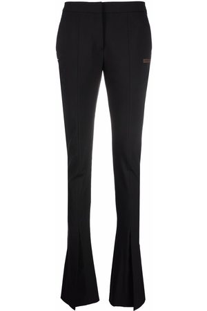 OFF-WHITE LIGHT WOOL TAILORED PANT BLACK NO COLOR