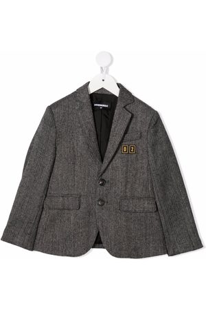 Dsquared2 Kids Niño Sacos - Single-breasted fitted blazer