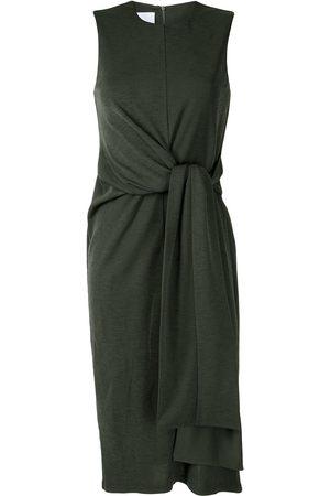 Acler Mujer Cóctel - Vestido midi Noble con detalle de nudo