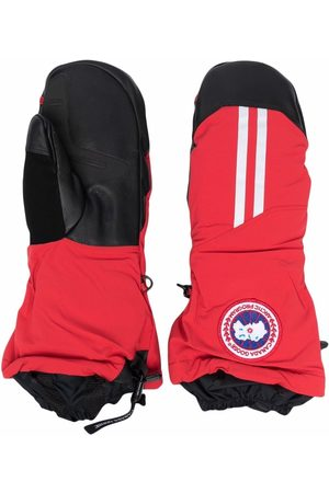 Canada Goose Hombre Guantes - Logo patch padded gloves