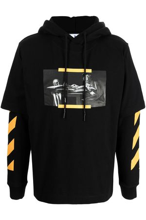 Off-White Hombre Con capucha - Caravaggio painting hoodie