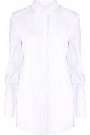Off-White Mujer Camisas - POPEL FRENCH SEAMED SHIRT WHITE NO COLOR