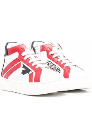 Dsquared2 Kids Maple-leaf detail sneakers