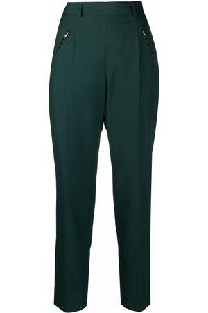 Maison Margiela Pantalones de vestir de talle alto