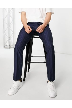 French Connection Slim fit striped trousers