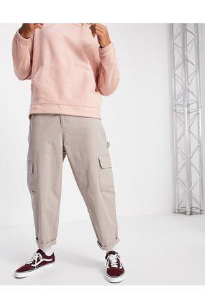 ASOS Carpenter wide leg trousers in