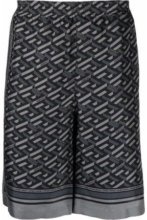 VERSACE Shorts con estampado Greca
