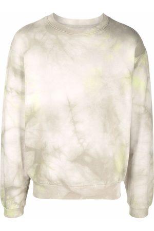 Kapital Hombre Sudaderas - Sudadera con estampado tie-dye