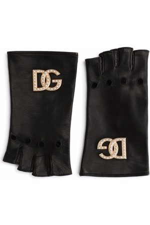 Dolce & Gabbana Mujer Guantes - Mitones con detalle de aberturas