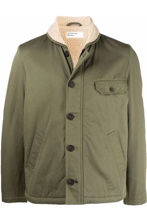Universal Works Faux-shearling button-up jacket