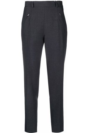 Maison Margiela High-waisted slim-fit trousers
