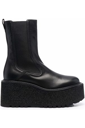 Premiata Gaucho platform sole ankle boots