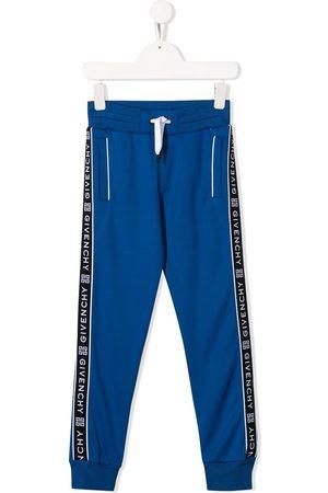 Givenchy Kids Pants con logo y cordón