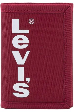 Levi's Cartera Red Tab Trifold One Size Brilliant Red