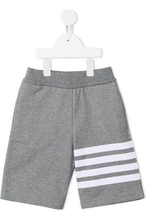 Thom Browne Kids Pants con motivo 4-Bar