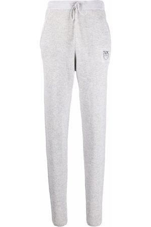 Pinko Pants ajustados con logo bordado