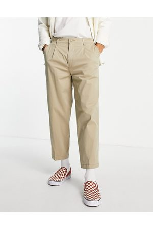 Levis Levi's loose cropped chinos in stone