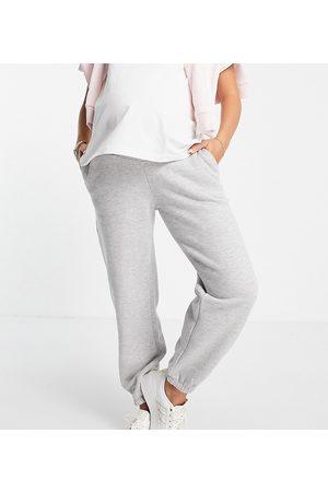 ASOS Maternity ASOS DESIGN Maternity under the bump ultimate jogger in grey marl