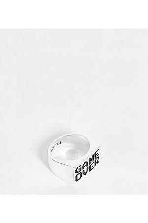 WFTW Game over signet ring in silver