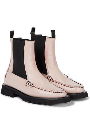 Cecilie Bahnsen X Diemme Alda leather Chelsea boots
