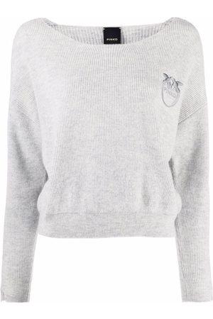 Pinko Suéter con logo bordado