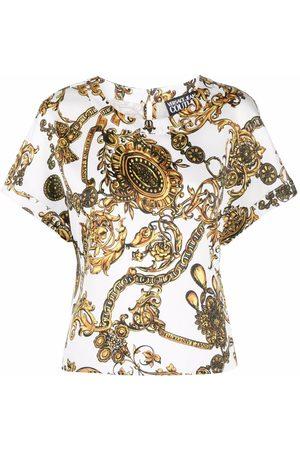 Versace Jeans Couture Mujer Playeras - Camisa con estampado Regalia Baroque