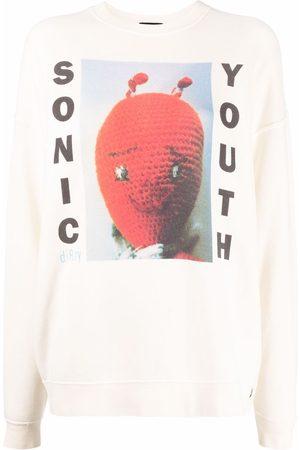 R13 Sudadera con motivo de album de x Sonic Youth