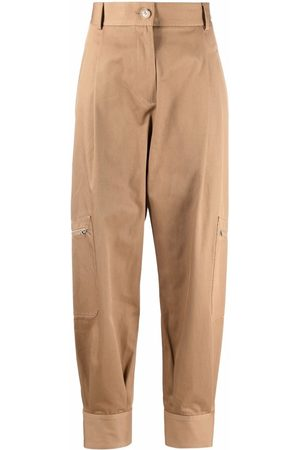 J.W.Anderson Mujer Cargo - High-waist cargo trousers