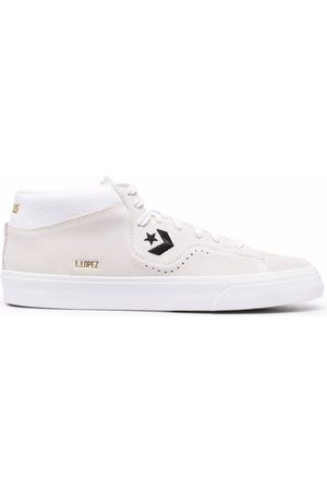 Converse Logo-embroidered high top sneakers