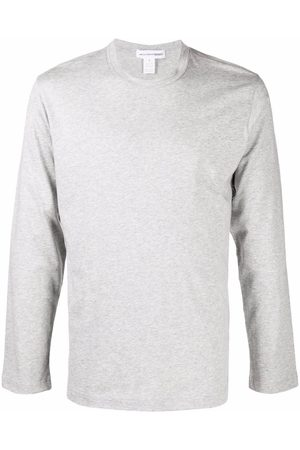 Comme des Garçons Hombre Playeras manga larga - Logo-print long-sleeve T-shirt