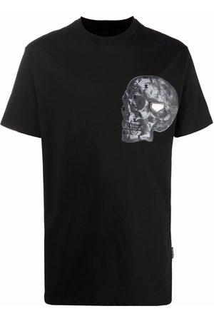 Philipp Plein Playera con estampado Skull